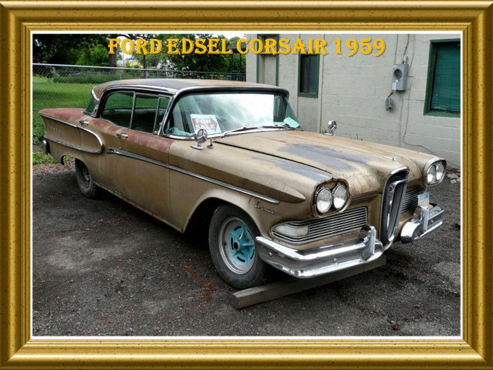Ford edsel corsair 1959