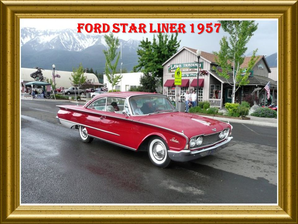 Ford sun liner 1955