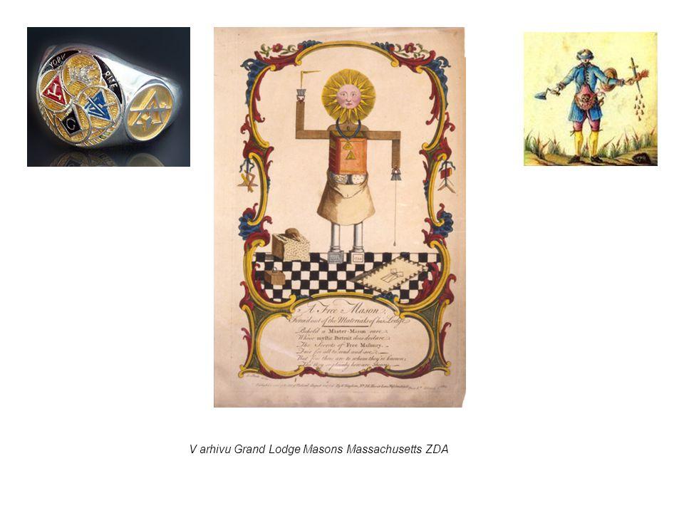 V arhivu Grand Lodge Masons Massachusetts ZDA