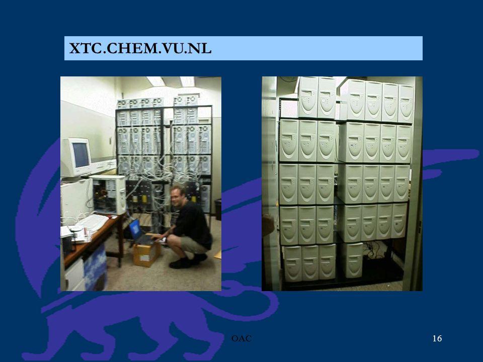 OAC16 XTC.CHEM.VU.NL