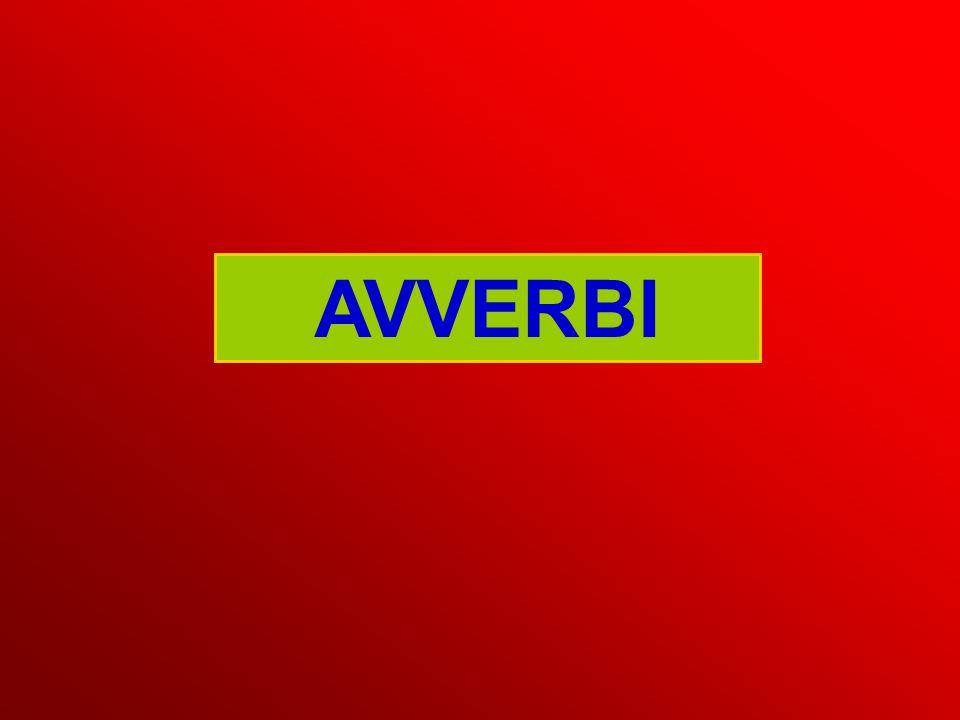 AVVERBI