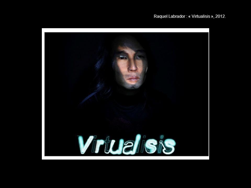 Raquel Labrador : « Virtualisis », 2012.