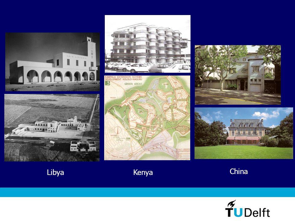 China KenyaLibya