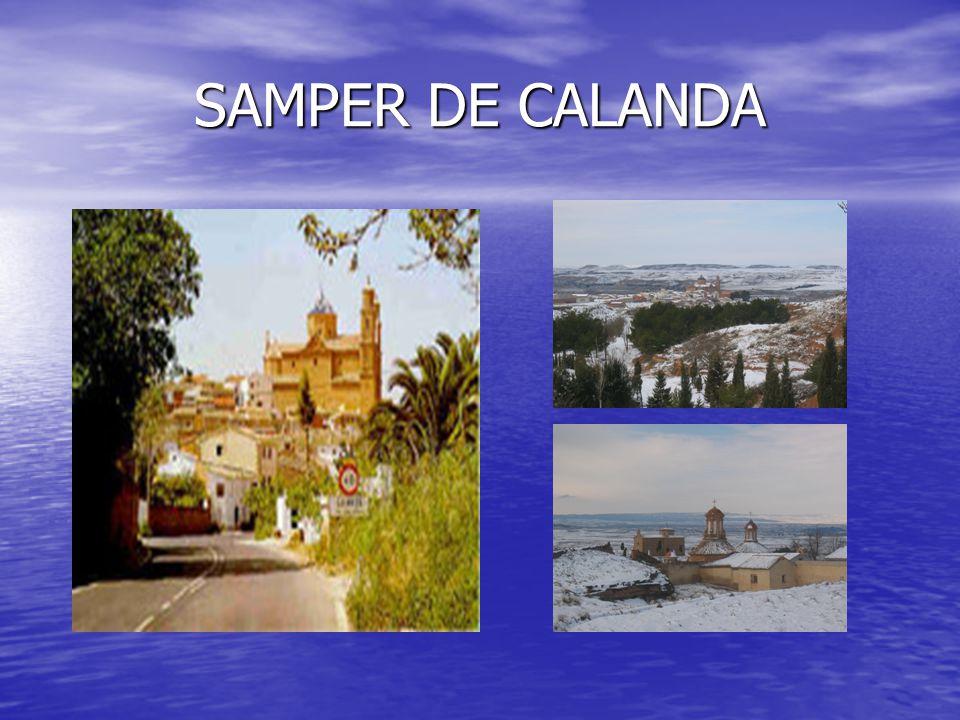 SAMPER DE CALANDA