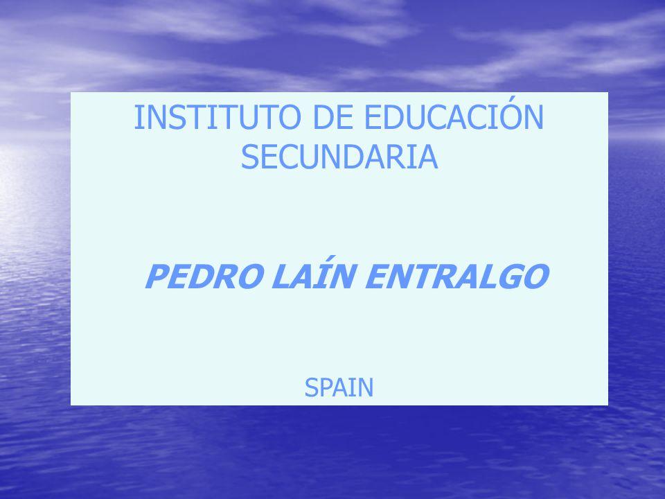 INSTITUTO DE EDUCACIÓN SECUNDARIA PEDRO LAÍN ENTRALGO SPAIN