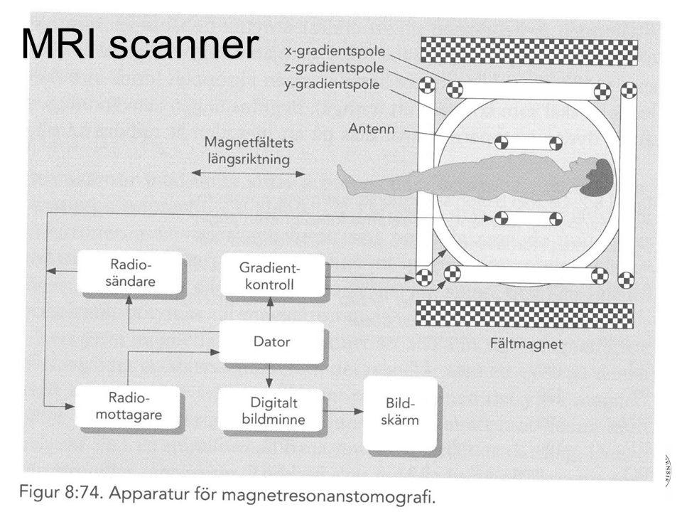 Fysisk institutt - Rikshospitalet 23 MRI scanner