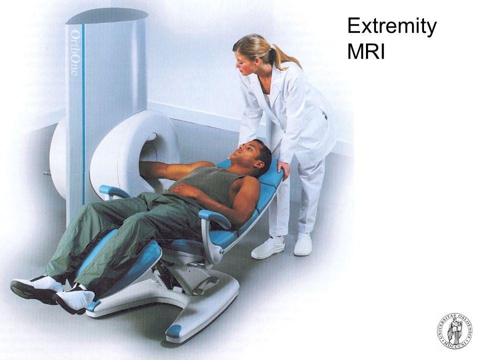 Fysisk institutt - Rikshospitalet 31 Extremity MRI