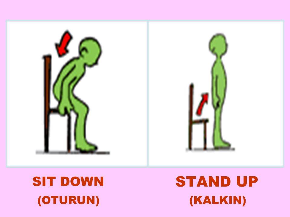 STAND UP SIT DOWN (KALKIN)  (OTURUN) 