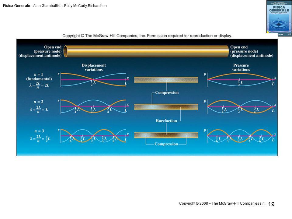 Fisica Generale - Alan Giambattista, Betty McCarty Richardson Copyright © 2008 – The McGraw-Hill Companies s.r.l. 19