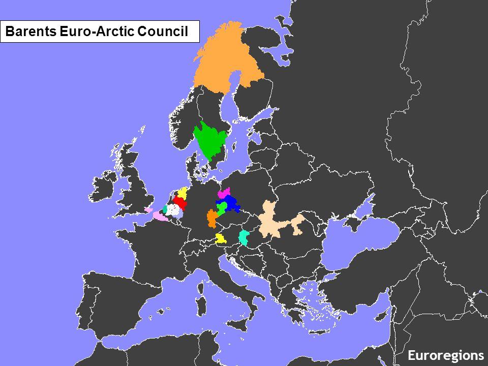 Barents Euro-Arctic Council Euroregions