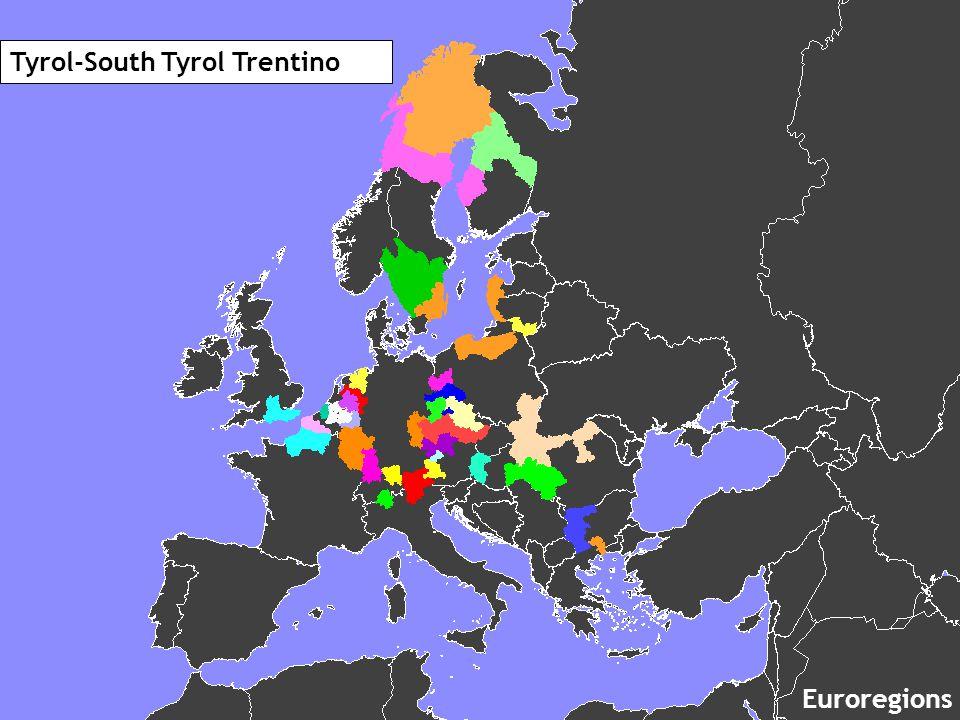 Tyrol-South Tyrol Trentino Euroregions