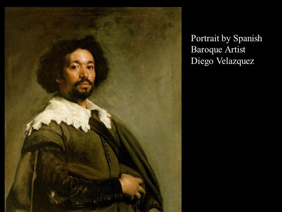 Portrait by Spanish Baroque Artist Diego Velazquez Amazing...