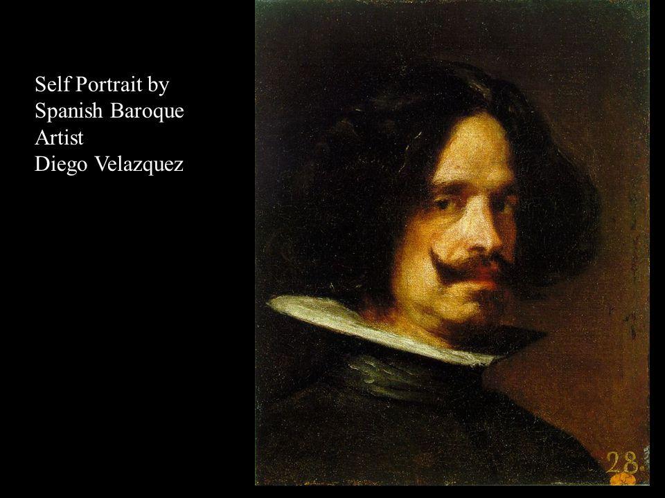 Portrait by Spanish Baroque Artist Diego Velazquez