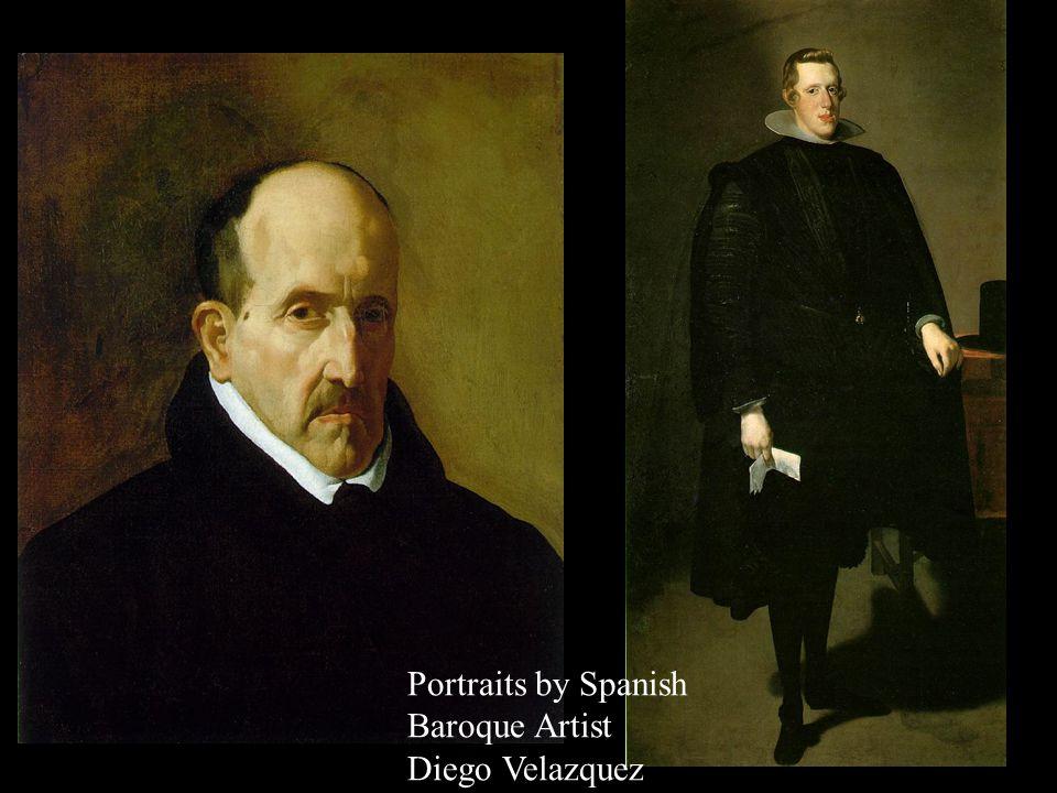 Self Portrait by Spanish Baroque Artist Diego Velazquez
