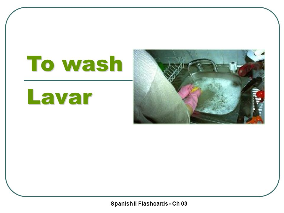Spanish II Flashcards - Ch 03 Potatoes Las papas