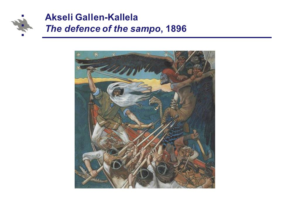 Akseli Gallen-Kallela The defence of the sampo, 1896