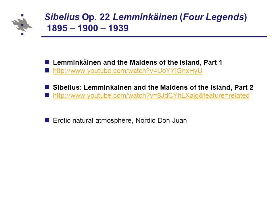 Sibelius Op.