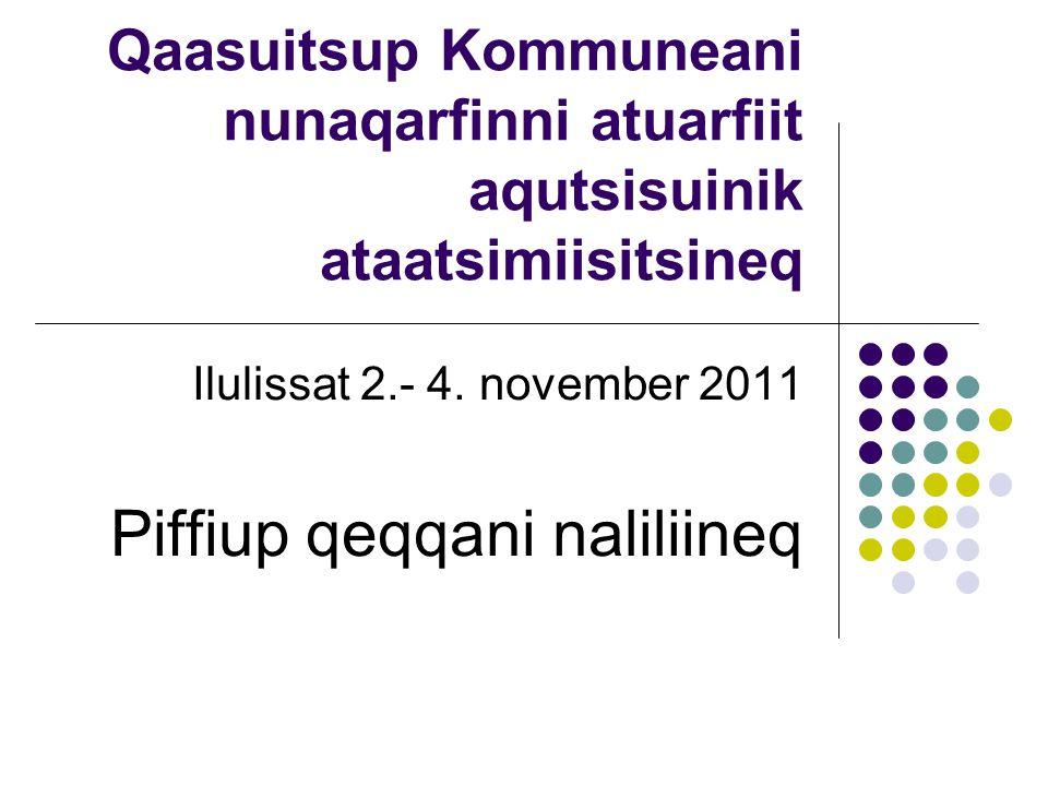 Qaasuitsup Kommuneani nunaqarfinni atuarfiit aqutsisuinik ataatsimiisitsineq Ilulissat 2.- 4.