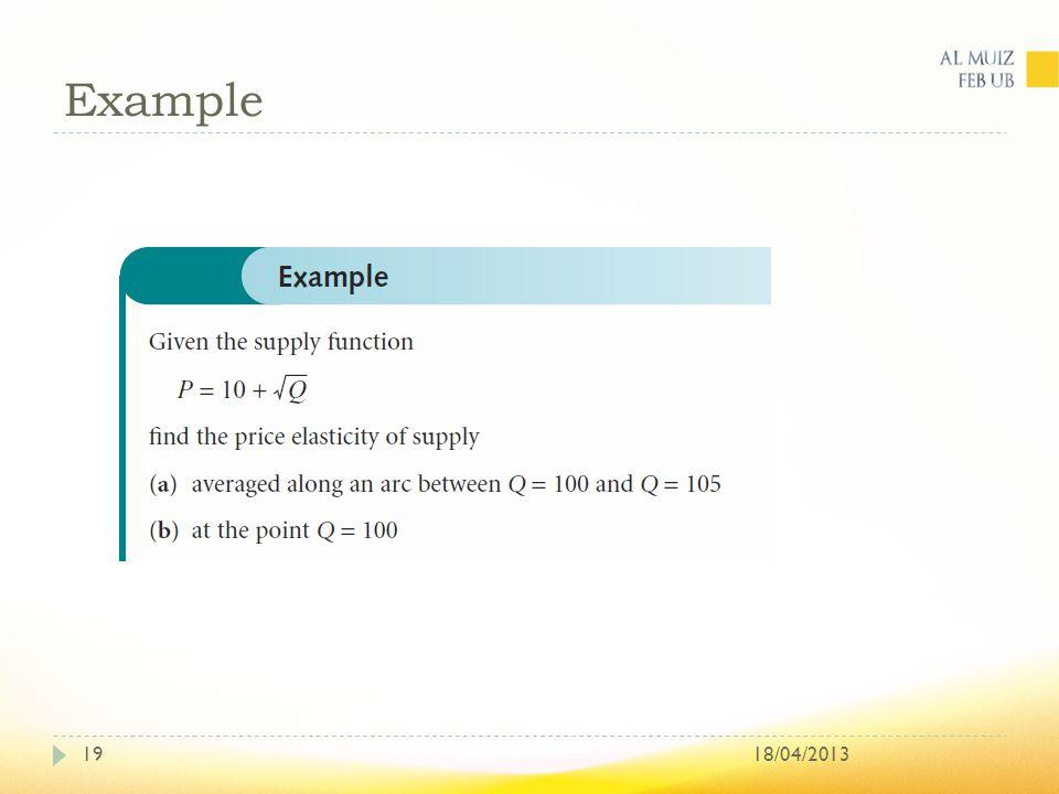 Example 18/04/201319