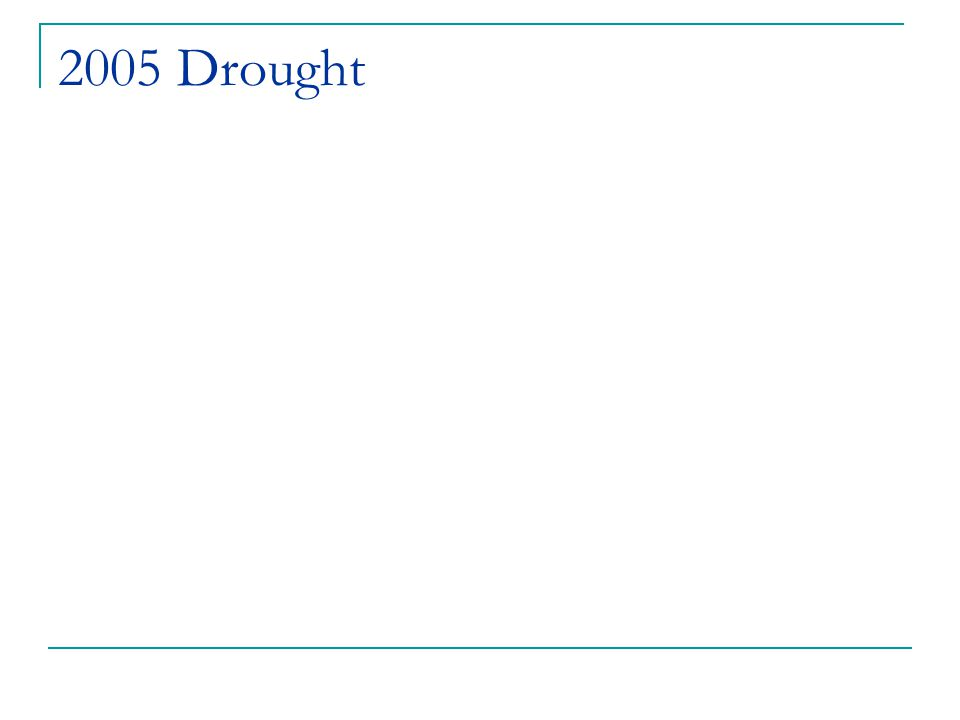 2005 Drought