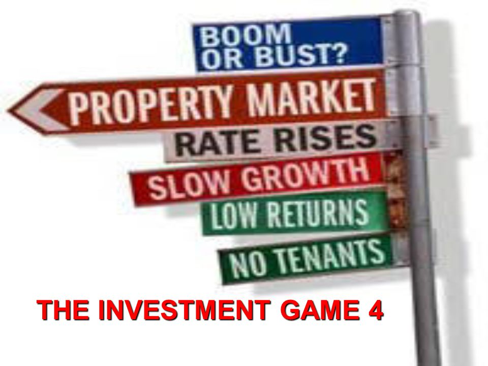 THE INVESTMENT GAME 4