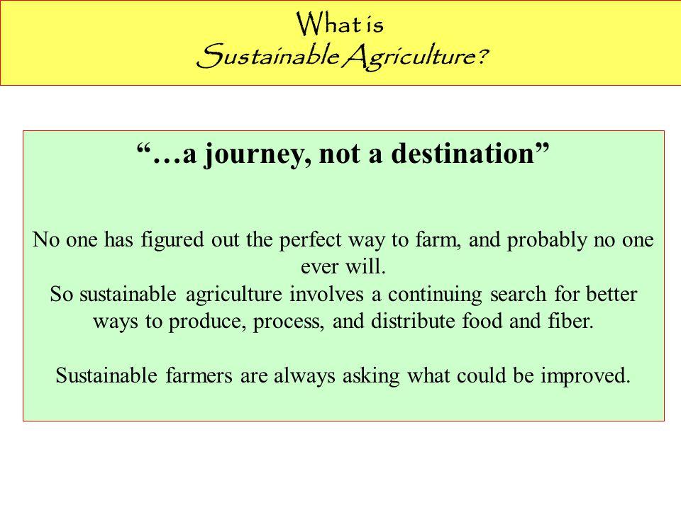 Sustainable Agriculture …an integrated system of plant and animal production practices…that will: 1.Memenuhi kebutuhan manusia akan pangan dan serat 2.Memperbaiki kualitas lingkungan 3.Menggunakan sumberdaya non-renewable secara se-efisien mungkin 4.Layak secara ekonomi 5.Memperbaiki kualitas hidup manusia. Krish Jayachandran-2008.