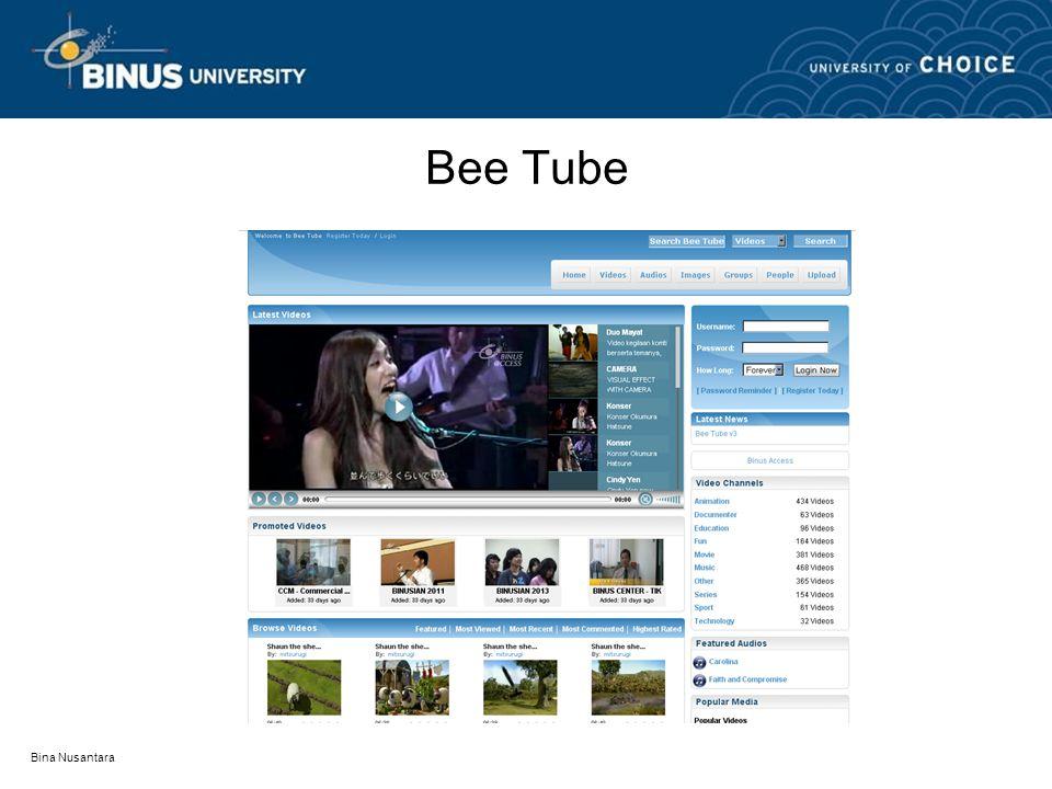 Bee Tube Bina Nusantara