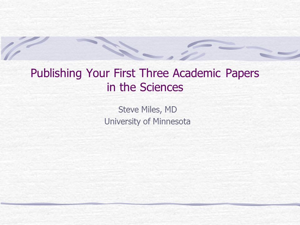 After the Publication: Connecting your passion to an audience to make things happen.