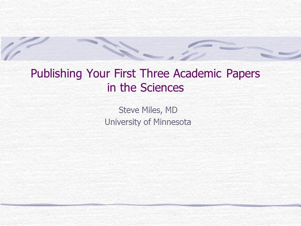 VIII: Peer Review