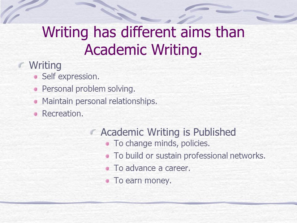 Academic Publishing Connecting your passion to an audience to make things happen.