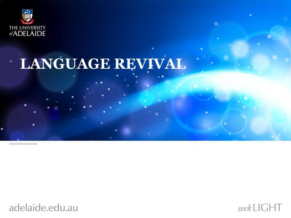 LANGUAGE REVIVAL