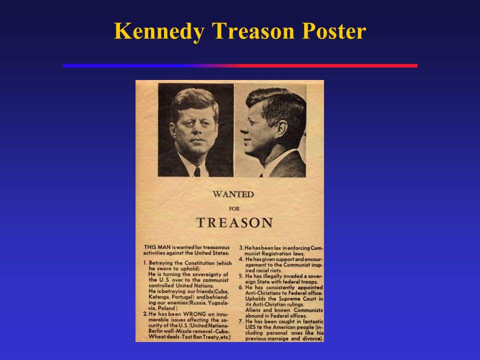 Kennedy Treason Poster