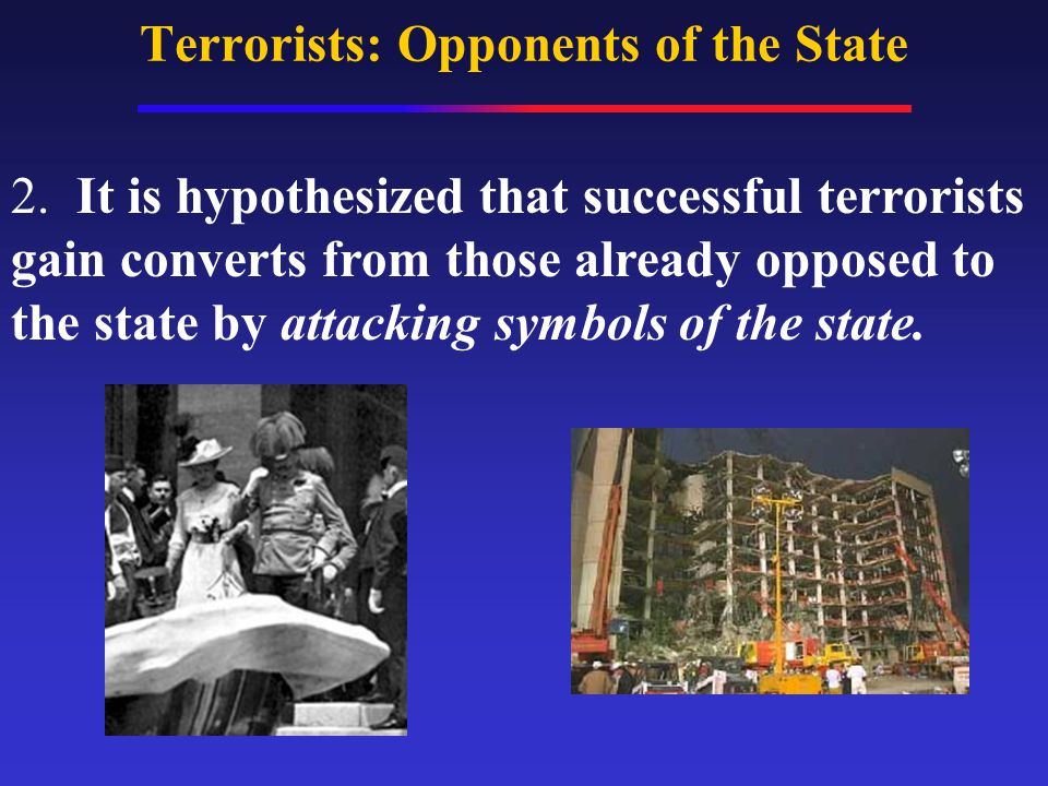 Terrorists: Opponents of the State 2.