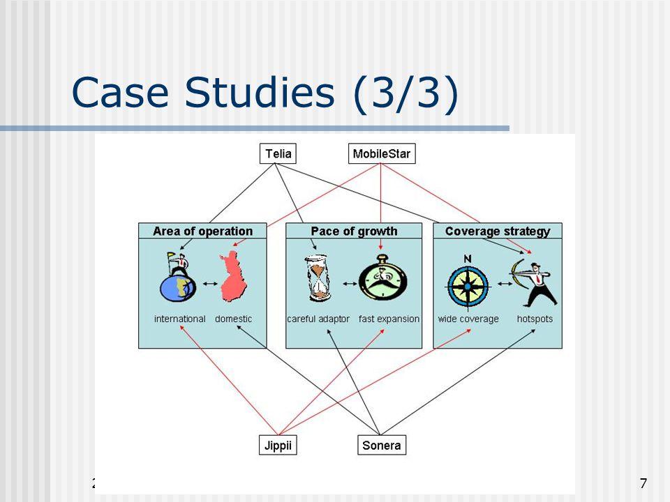 26.3.2003Riku Honkanen7 Case Studies (3/3)