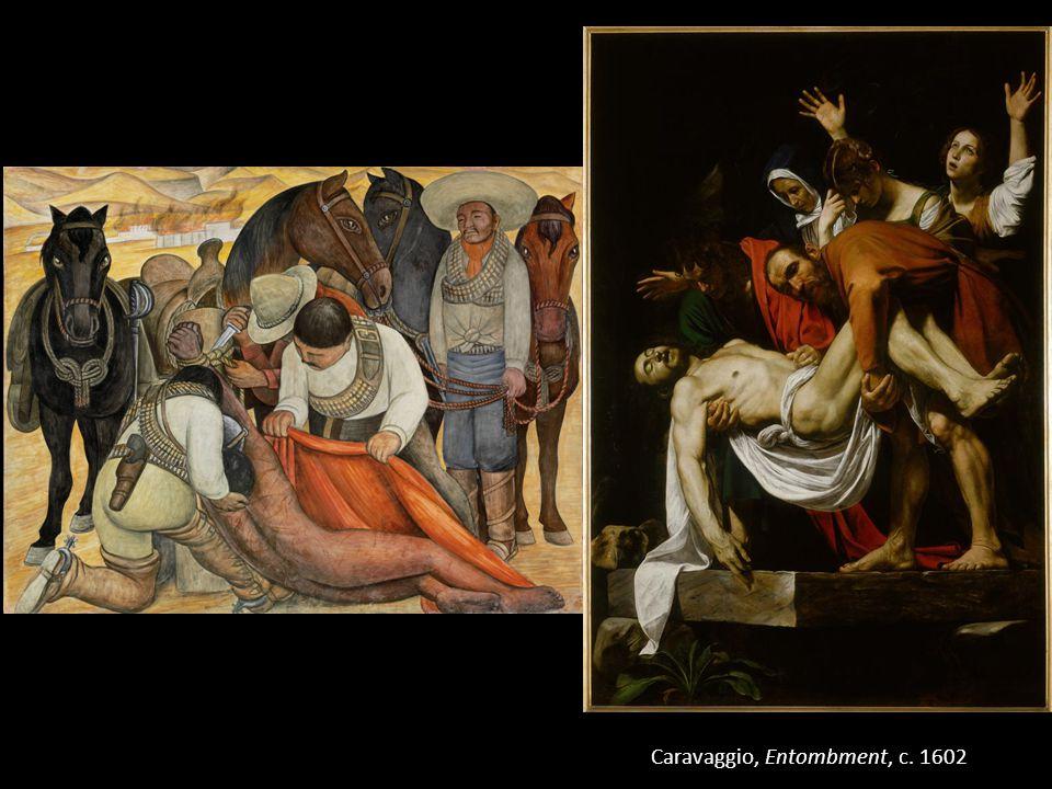 Caravaggio, Entombment, c. 1602