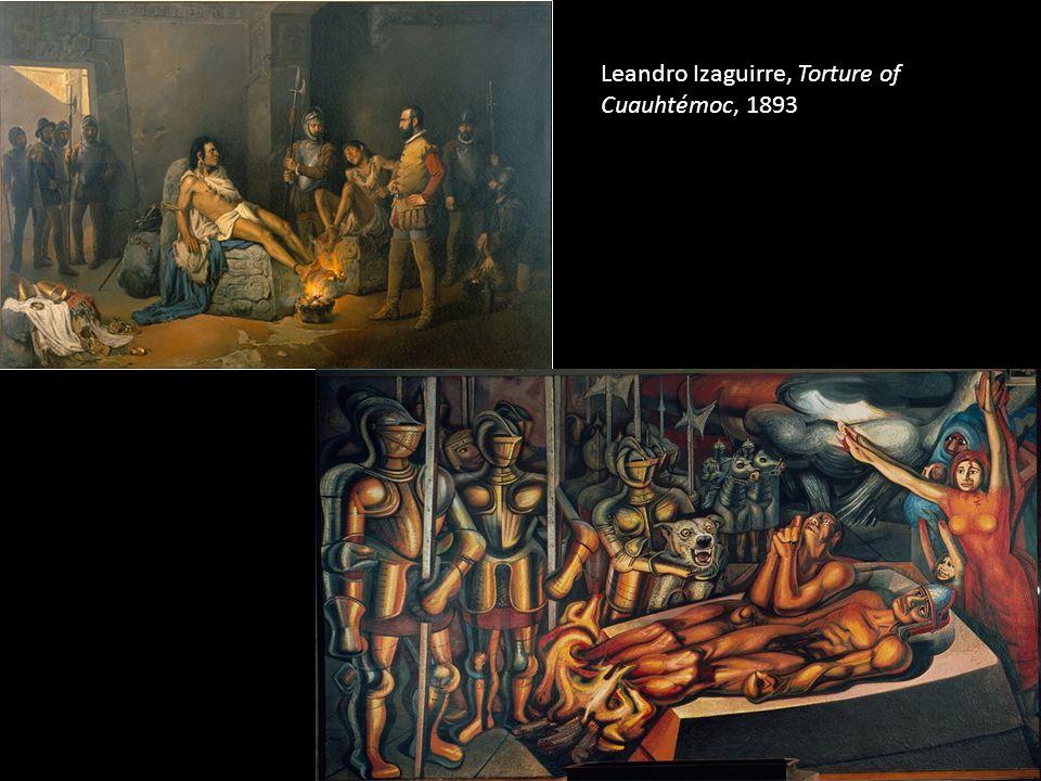 Leandro Izaguirre, Torture of Cuauhtémoc, 1893