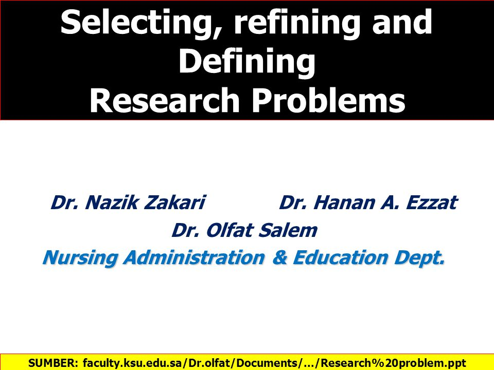 Step 1: Selection of the research topic: Then a list of ideas can be classified into Interesting topics.