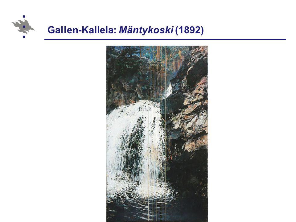 Gallen-Kallela: Mäntykoski (1892)