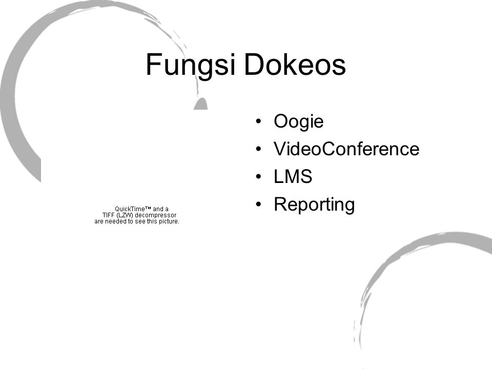 Fungsi Dokeos Oogie VideoConference LMS Reporting