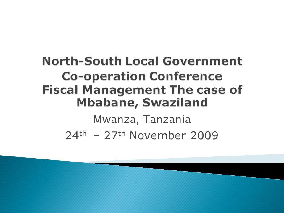 Mwanza, Tanzania 24 th – 27 th November 2009