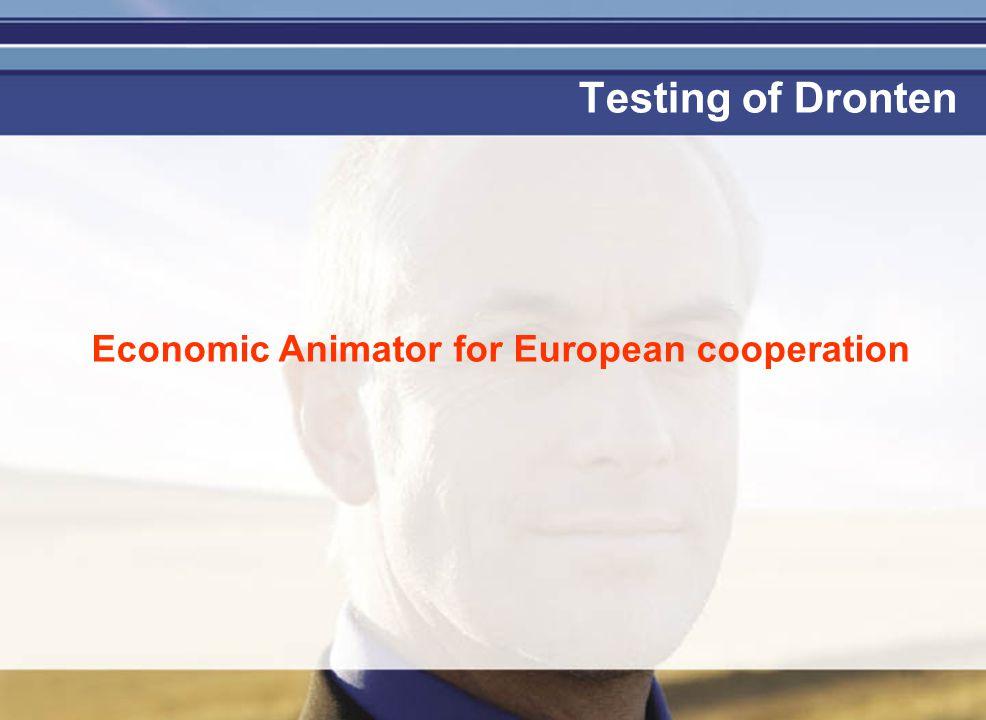 Je mag er zijn Testing of Dronten Economic Animator for European cooperation
