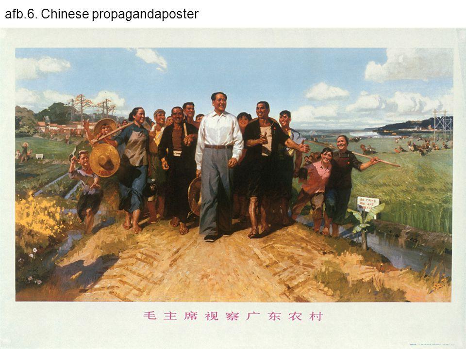afb.6. Chinese propagandaposter