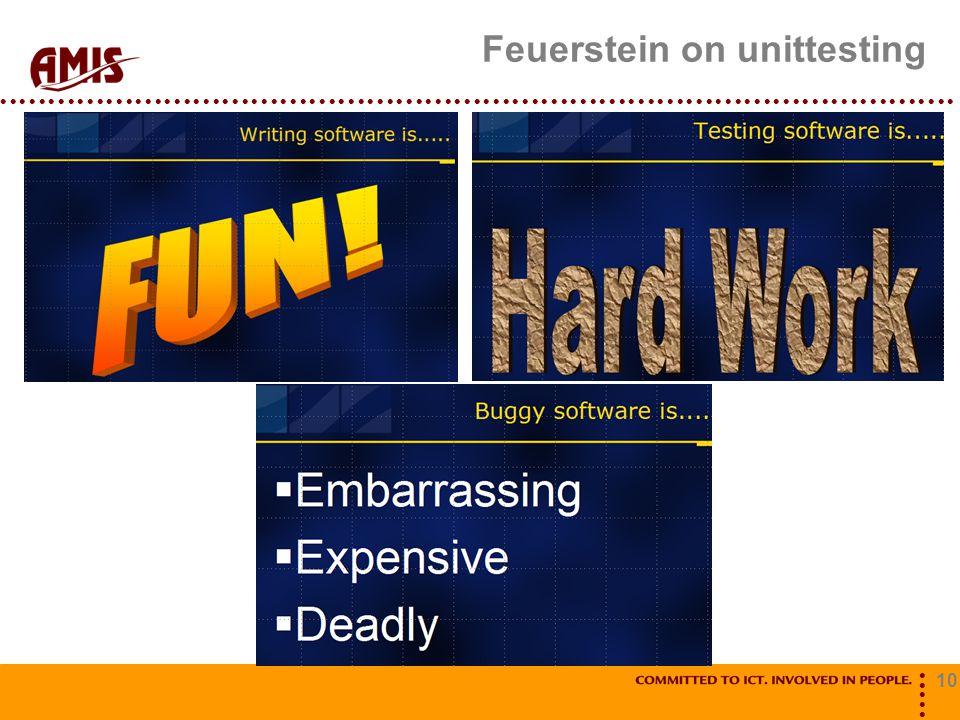 10 Feuerstein on unittesting