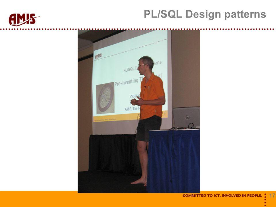 17 PL/SQL Design patterns