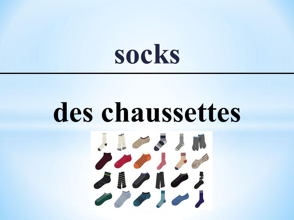 socks des chaussettes