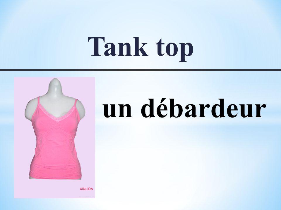 Tank top un débardeur