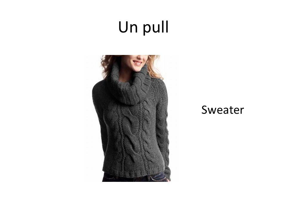 Un pull Sweater