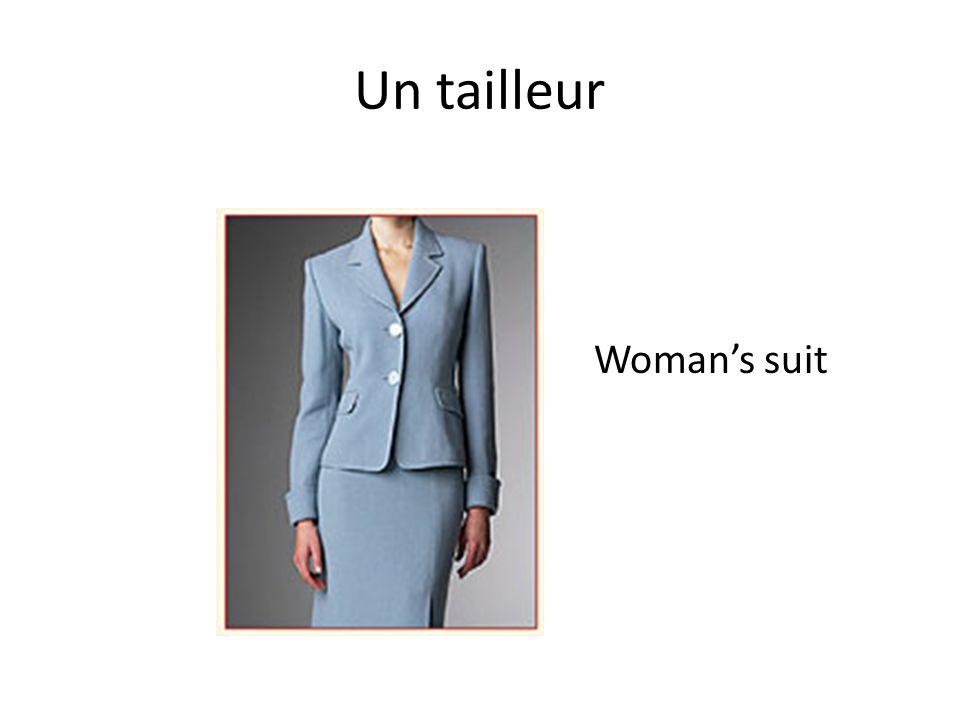 Un tailleur Woman's suit