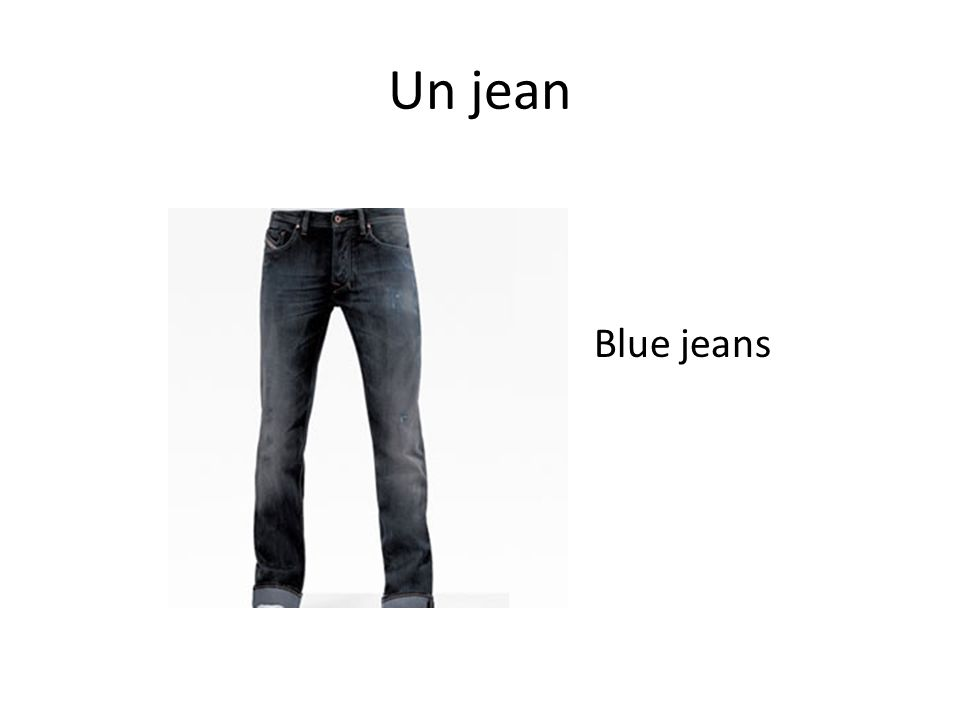 Un jean Blue jeans