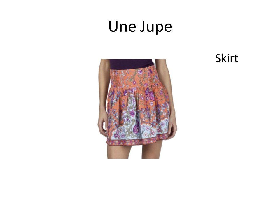 Une Jupe Skirt